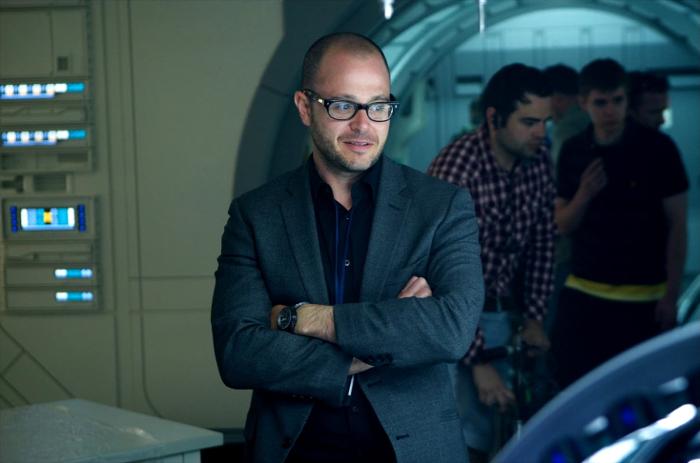 Damon Lindelof on the set of Prometheus.  Engineering Prometheus - From Jon Spaihts to Damon Lindelof