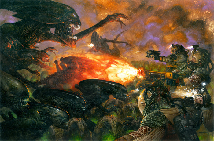 UDON Entertainment's Alien Visions artbook includes brand new artwork by Dave Dorman! Alien Visions - New Artbook by UDON!