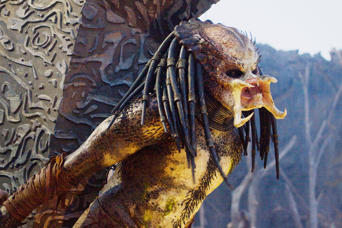 Robert Rodriguez's 1996 Predators script contains only a few elements that would be carried across into the final film, one such element being the crucified Predator.  Robert Rodriguez's 1996 Predators Script - AvPGalaxy Podcast #36
