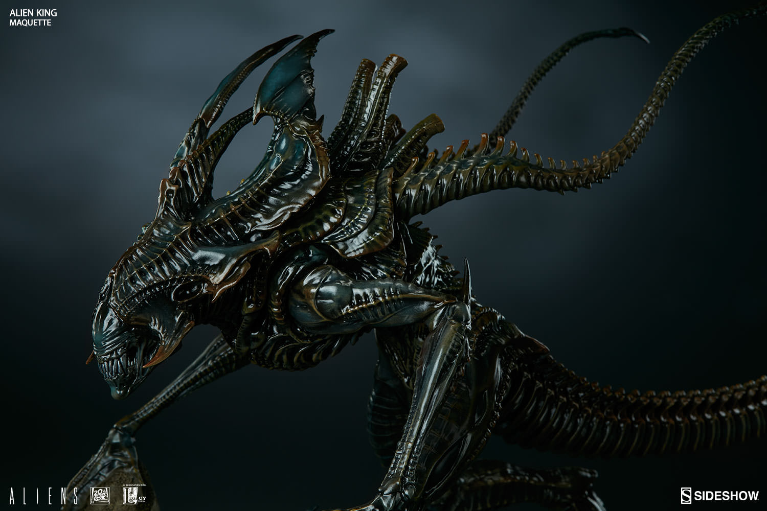 Alien King Maquette (Sideshow Collectibles) - AvPGalaxy H.r. Giger Wallpaper