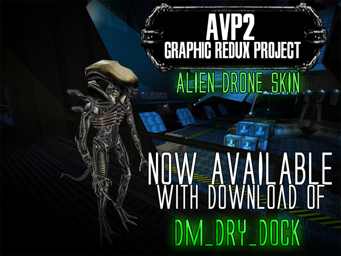 060616_04 Dry Dock Released - New Aliens vs. Predator 2 Map!