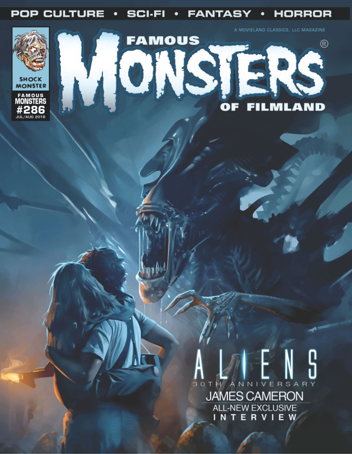 James Cameron unlikely to return for another Alien film. The comment comes from issue #286 of Famous Monsters. James Cameron Unlikely To Return For Another Alien Film