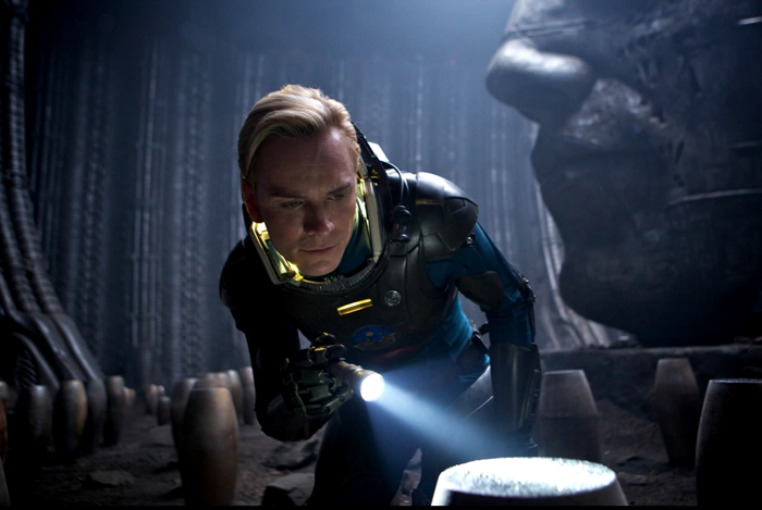 "In a new interview with Collider Michael Fassbender says Alien: Covenant is ""much scarier"" than Prometheus! Michael Fassbender Says Alien: Covenant Is ""Much Scarier"" Than Prometheus!"