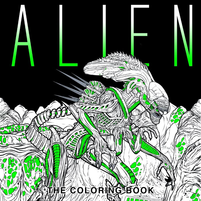 Titan announces Alien - The Colouring Book Titan Announces Alien - The Colouring Book