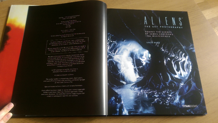 Aliens: The Set Photography Aliens: The Set Photography Review