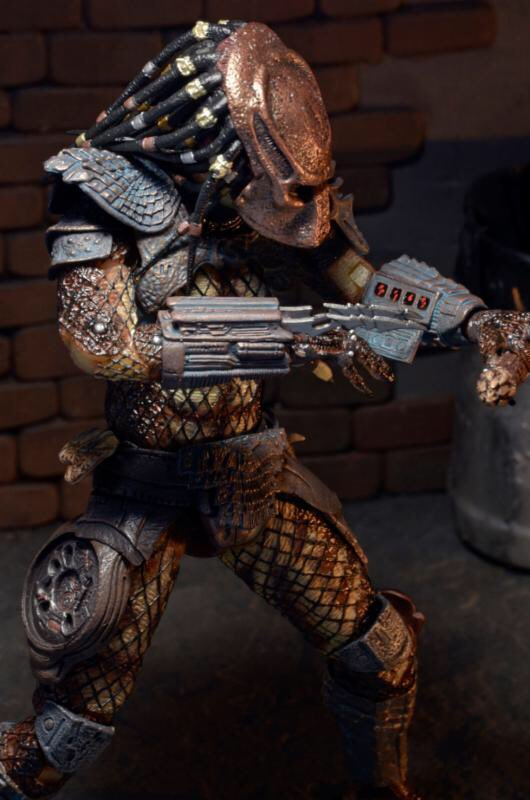 NECA's upcoming Ultimate City Hunter! NECA Announces Predator Series 17 - Youngblood, Elder and Serpent Hunter
