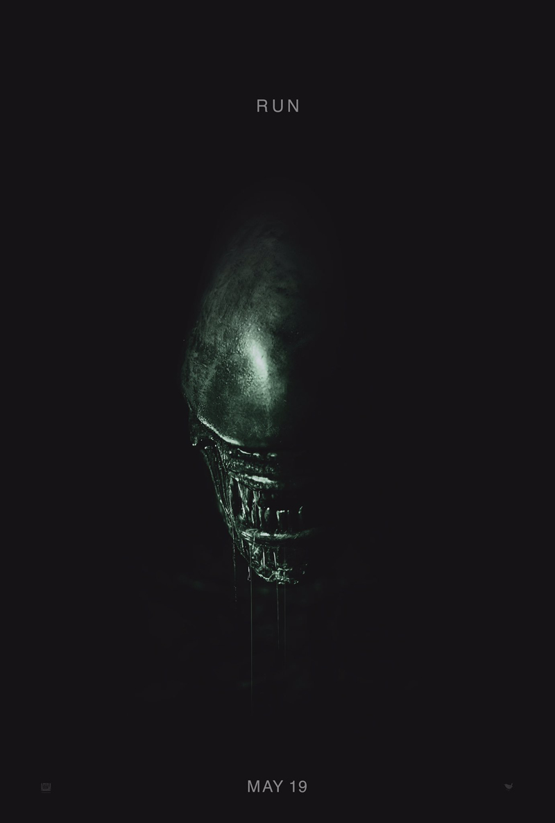 Fox announces that Alien: Covenant's release has been pulled forward to May 19th 2017 with a new teaser poster showing the film's Alien! Alien: Covenant Release Pulled Forward & Fox Offers First Glimpse Of The Alien