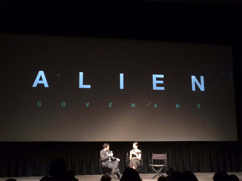 Alien: Covenant Footage and Trailer Screened at 20th Century Fox 2017 Showcase Preview!