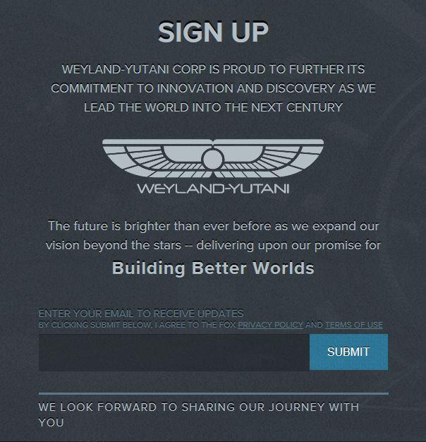 Official Alien Covenant Website Has Gone Live
