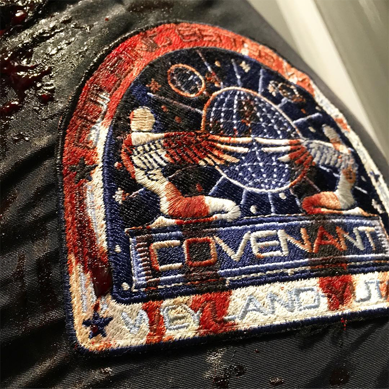 Uli Latukefu Shares Picture of Bloody Covenant Patch