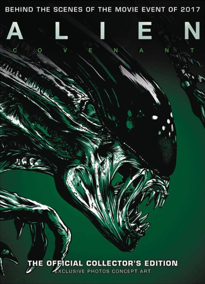 Alien Covenant: The Official Collector's Edition Cover Art