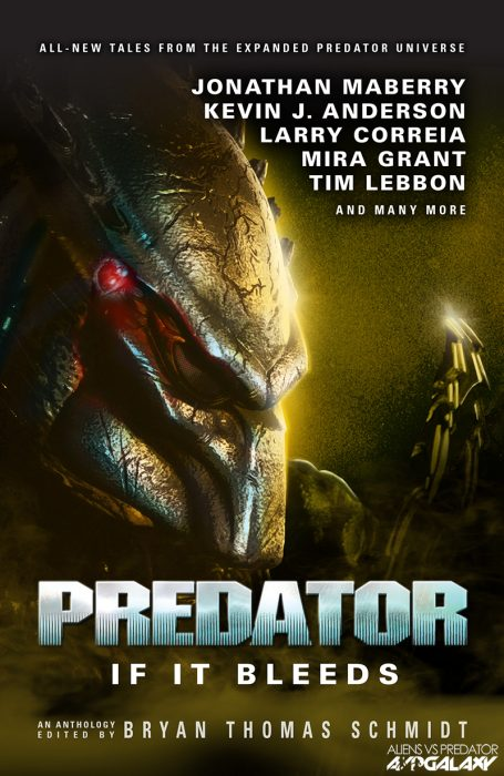 AvPGalaxy Exclusive - Predator: If It Bleeds - New Predator Anthology Book!