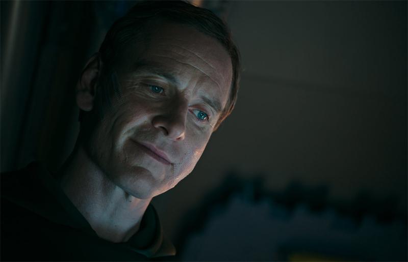 Michael Fassbender in New Alien: Covenant Still
