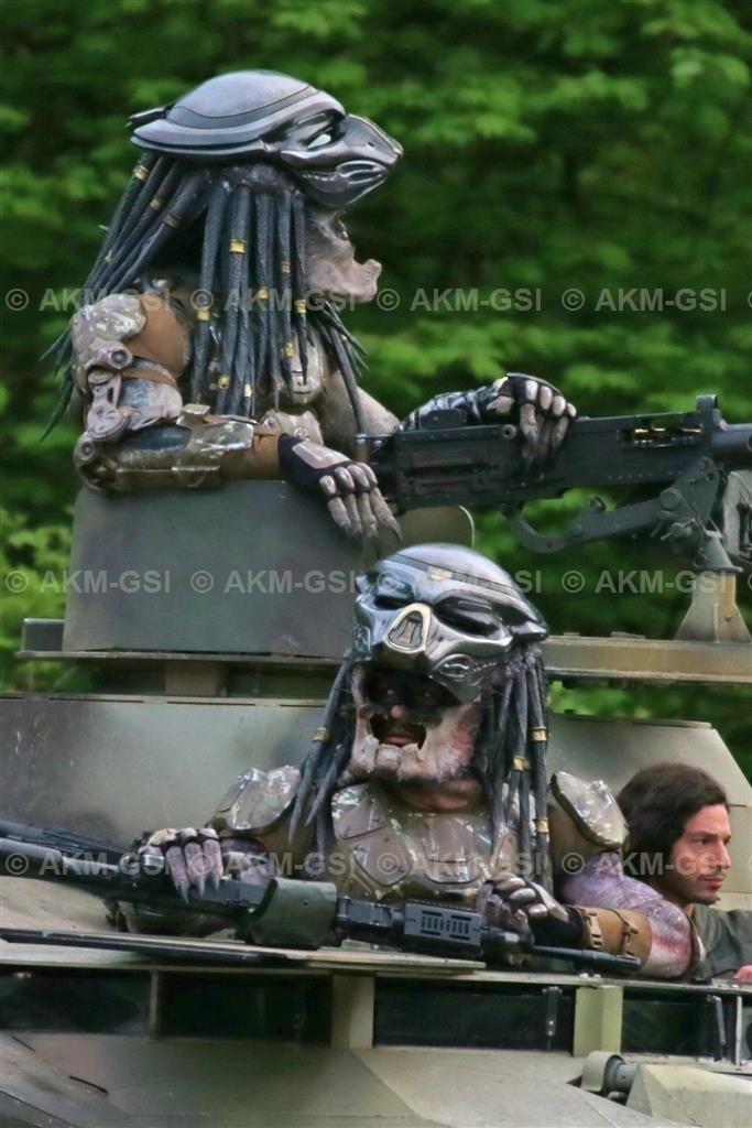 Closer Look at The Predator's New Suits!