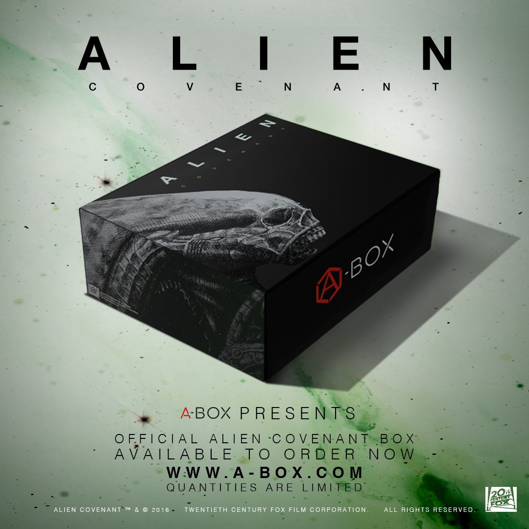Alien: Covenant A-Box Now Available For Pre-Order