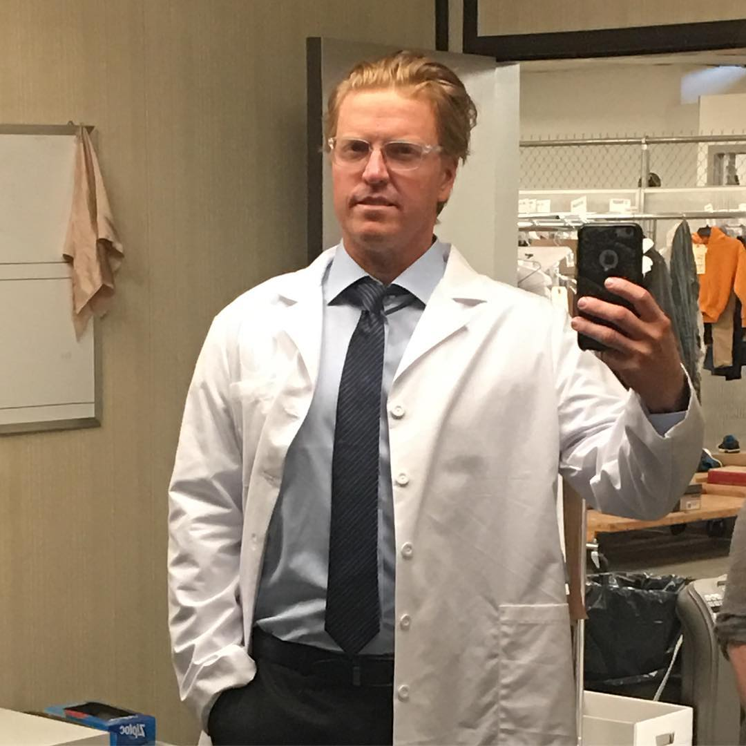 Jake Busey Plays Peter Keyes' Son in The Predator