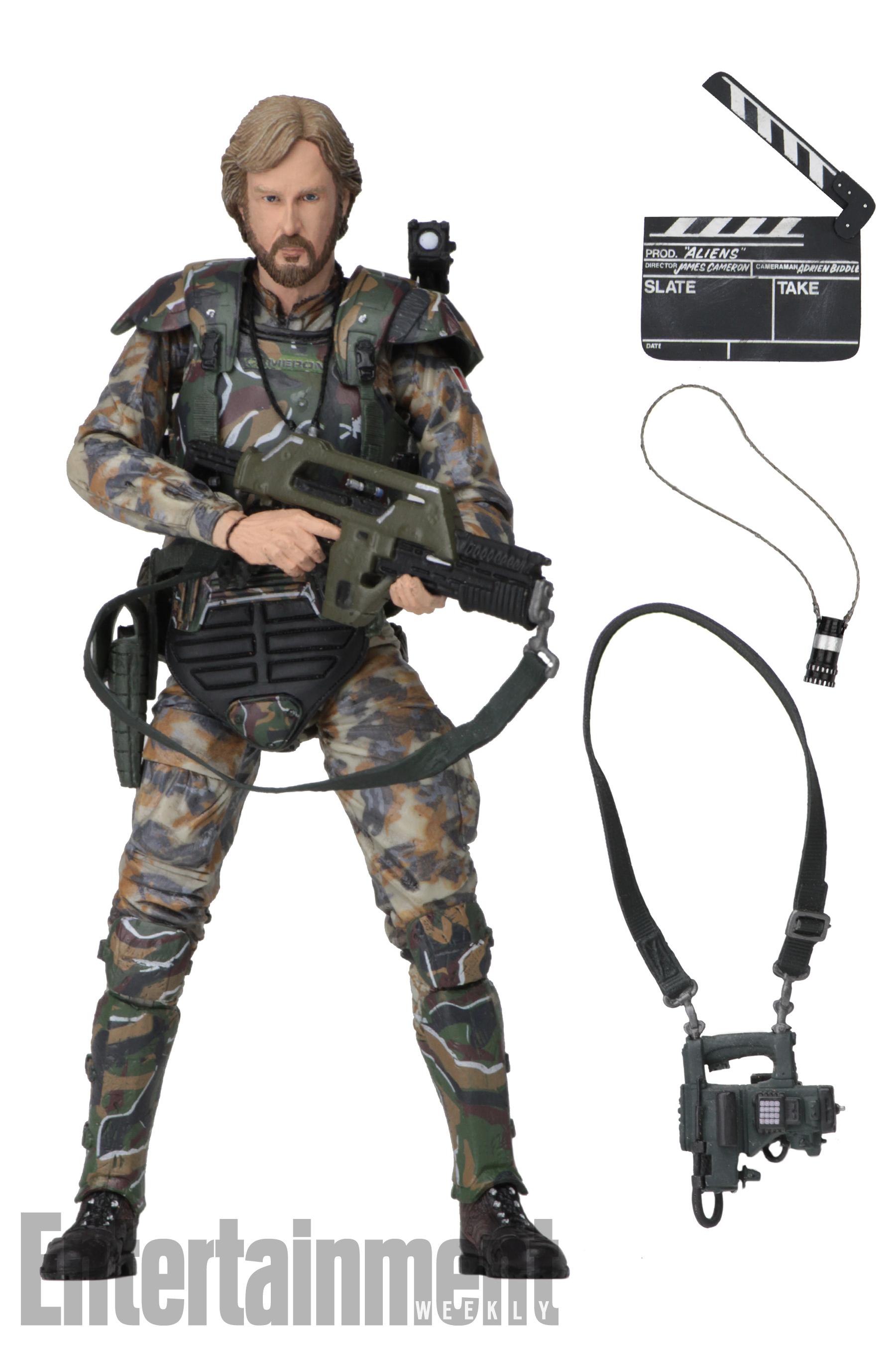 NECA's Announces Colonel James Cameron Figure!