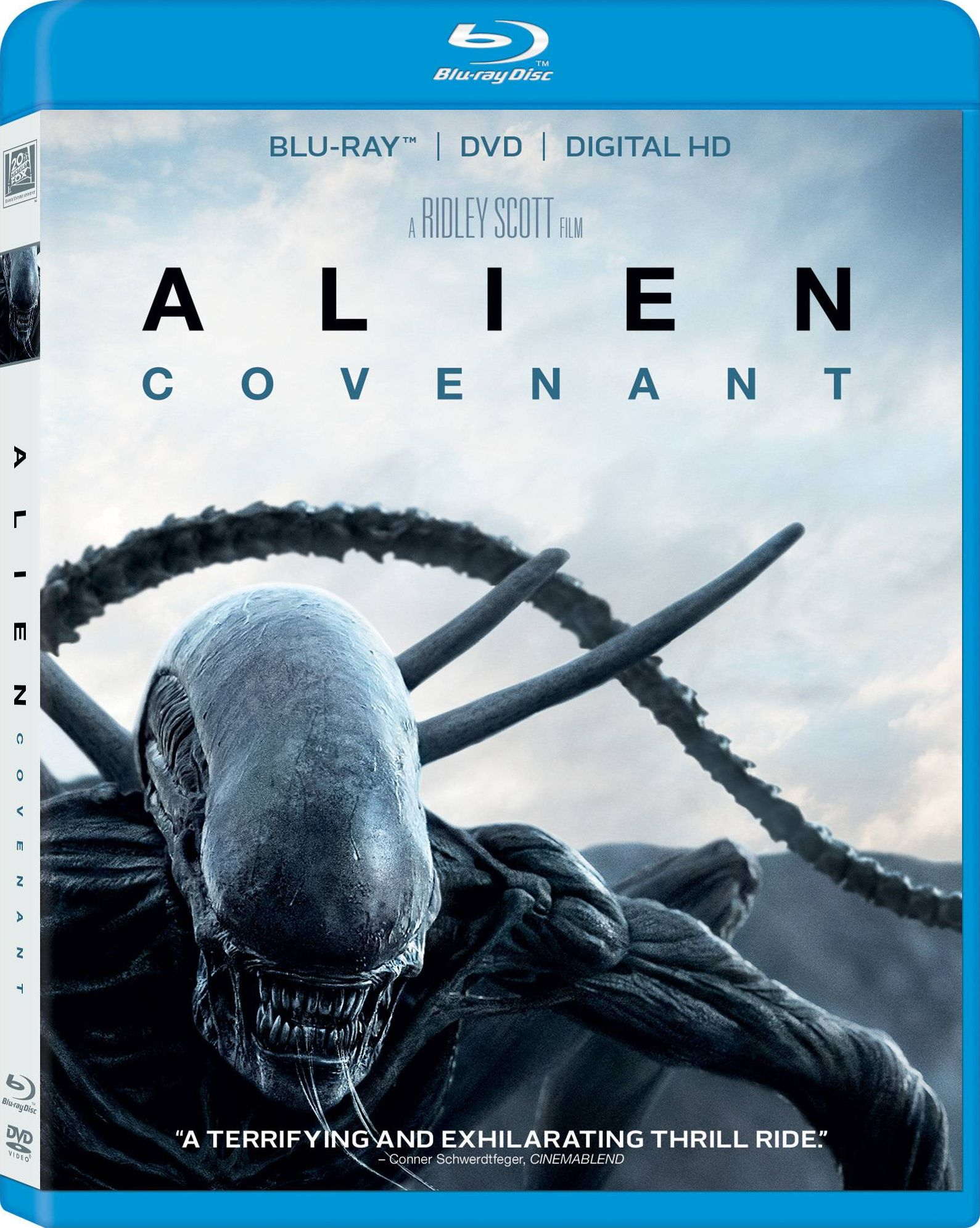 Alien Covenant Blu-Ray Infests Shops on August 15th, 2017