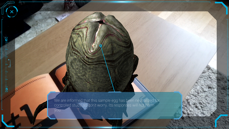 The Book of Alien: Augmented Reality Survival Manual Review