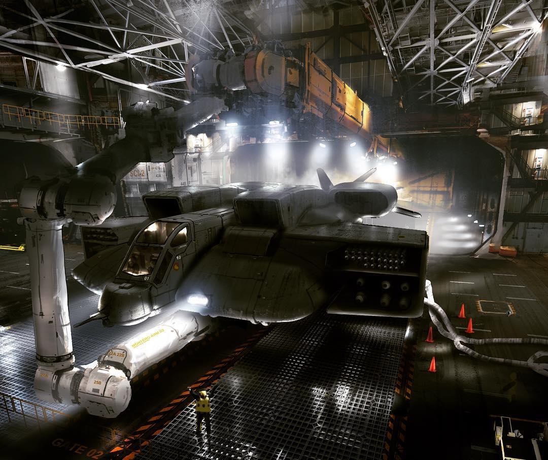 Neil Blomkamp Shares New Alien 5 Concept Art