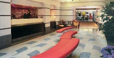 Reception Area in Hotel Aria Fabien's AvP Set Report