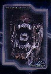 20040807_08 AvP Movie Trading Cards