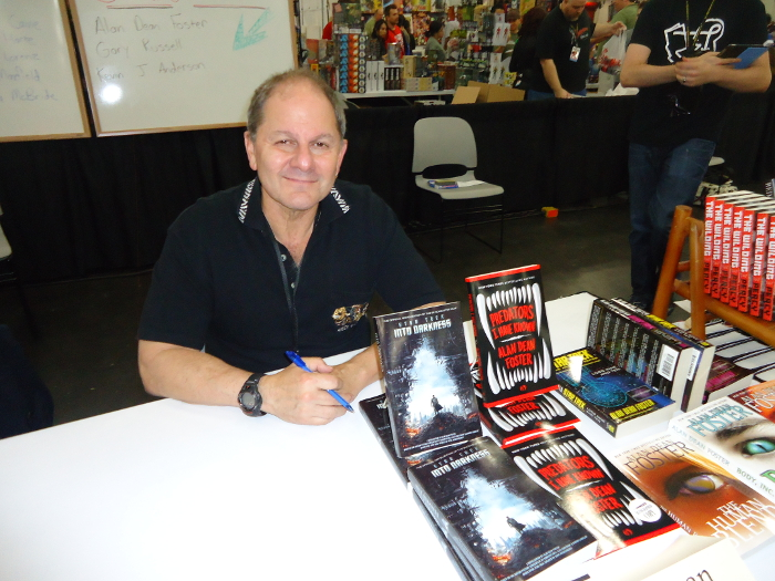 Alan Dean Foster at Comicpalooza 2013. Picture via Anakalian Whims. Alan Dean Foster Interview