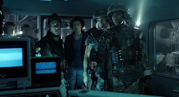 Sigourney Weaver Ripley Frost Hicks Gorman Aliens Aliens