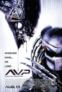 Alien vs Predator Movie Poster AvP Movie