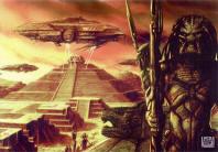 Pyramid Concept Art AvP Movie Paul Anderson Q&A