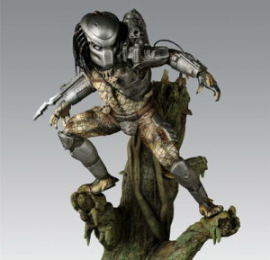 20080201 Sideshow Predator Diorama