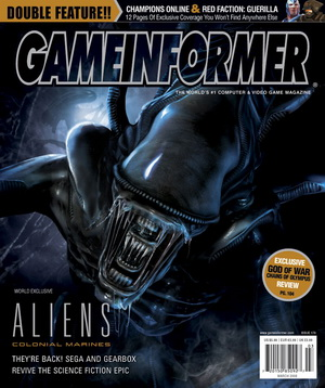 20080214 Aliens: Colonial Marines in Game Informer