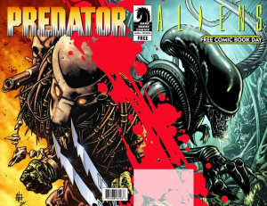 20090104 New Aliens/Predator Comics