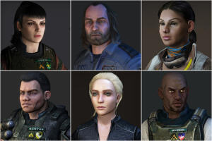20090326 Aliens Crucible Characters Revealed