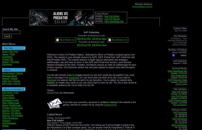 Site Info