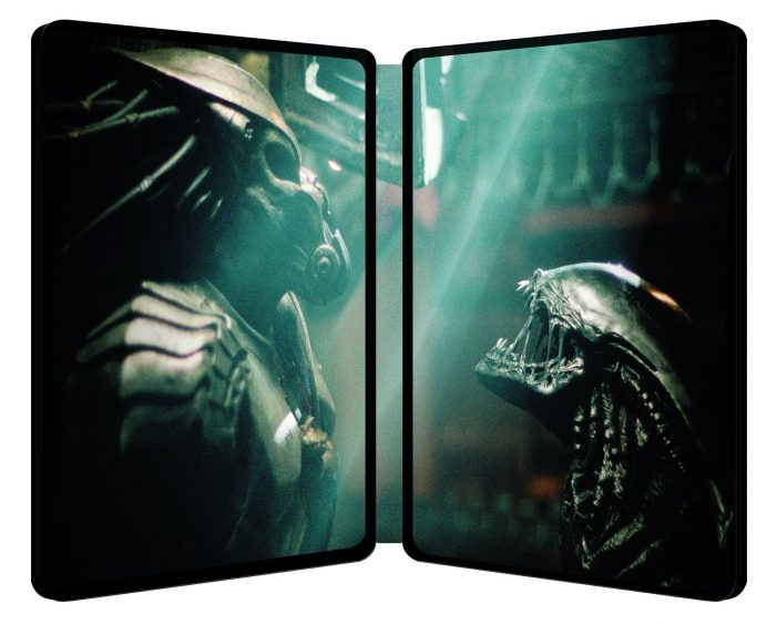 AvP Steelbook Blu-Ray Inside [UK] (2014) Alien vs Predator