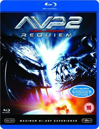 AvP Requiem Blu-Ray [UK] (2008) AvP Requiem DVDs & Blu-Rays