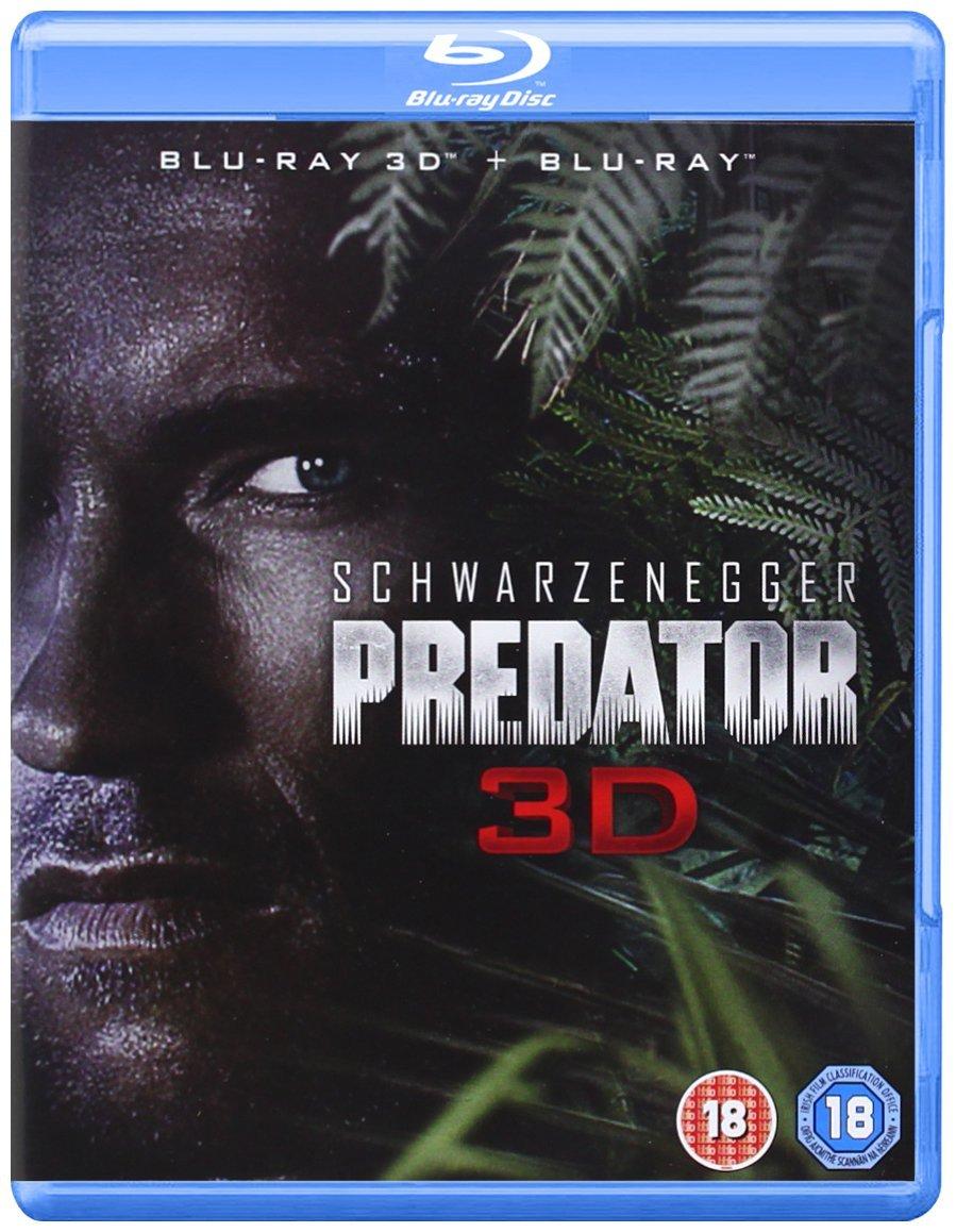 Predator 3D Blu-Ray Front [UK] (2013) Predator DVDs & Blu-Rays