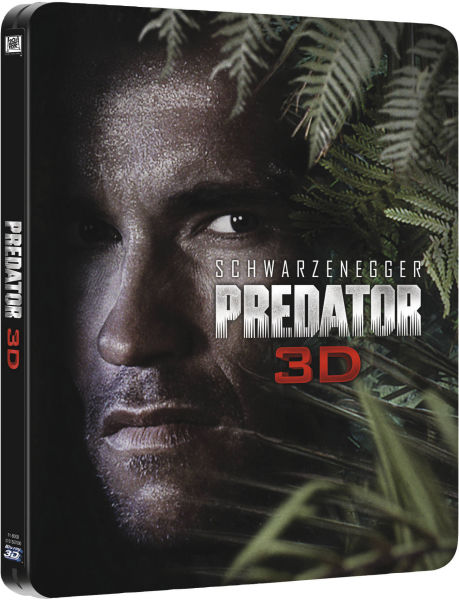 Predator 3D Blu-Ray Steel Case [UK] (2014) Predator DVDs & Blu-Rays