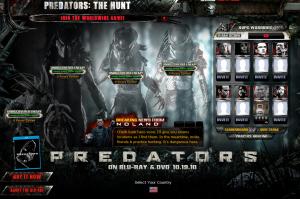 Predators Blu-ray Site