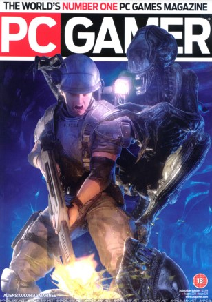 Colonial Marines in PC Gamer