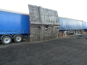 More Set Pictures from Prometheus