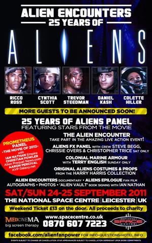 More Aliens Encounters Convention Details