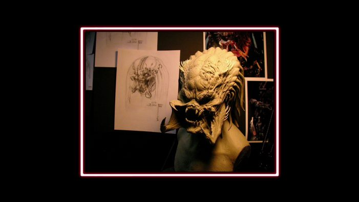 Predator Sculpture - AvP Requiem Blu-Ray Review AvP Requiem Blu-Ray Review