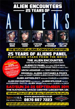 5 Days Until Alien Encounter Convention!