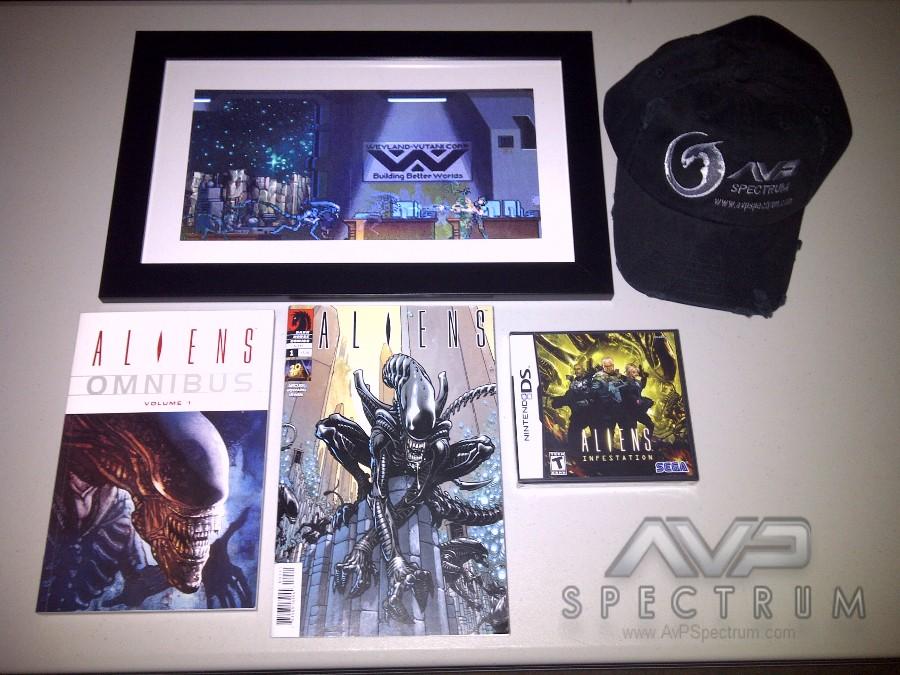 AvPSpectrum Aliens Pack Competition