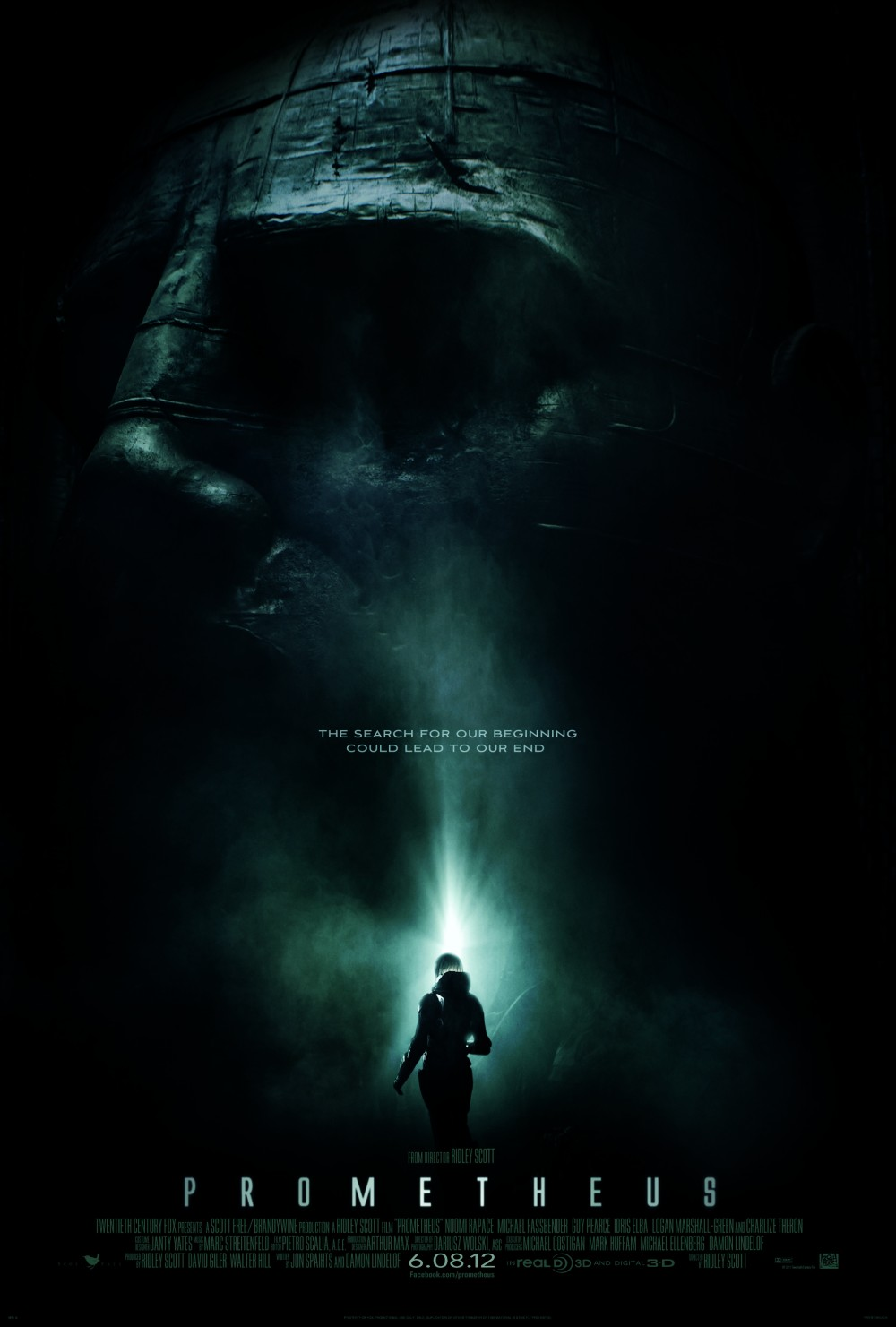 First Prometheus Poster Revealed [Updated]