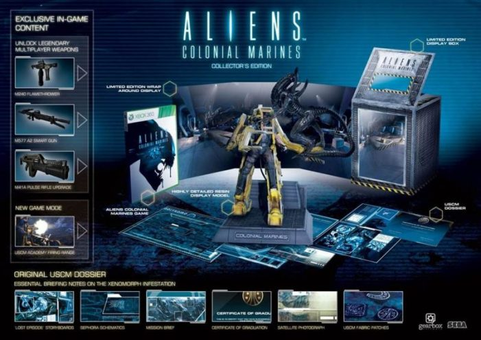 Aliens Colonial Marines Collector's Edition Revealed