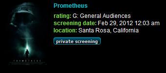 Test Screening for Prometheus