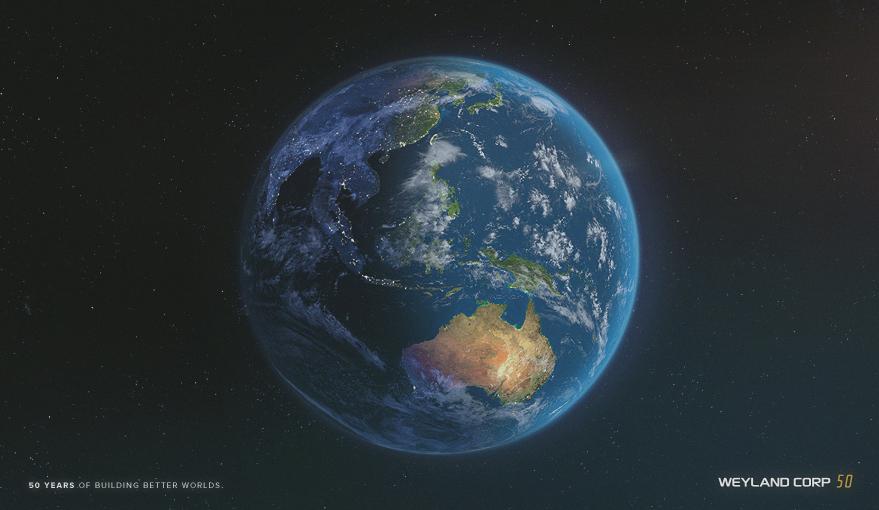 Weyland Industries Website Updated